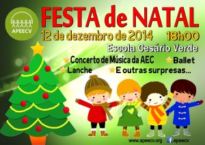 Cartaz Festa de Natal