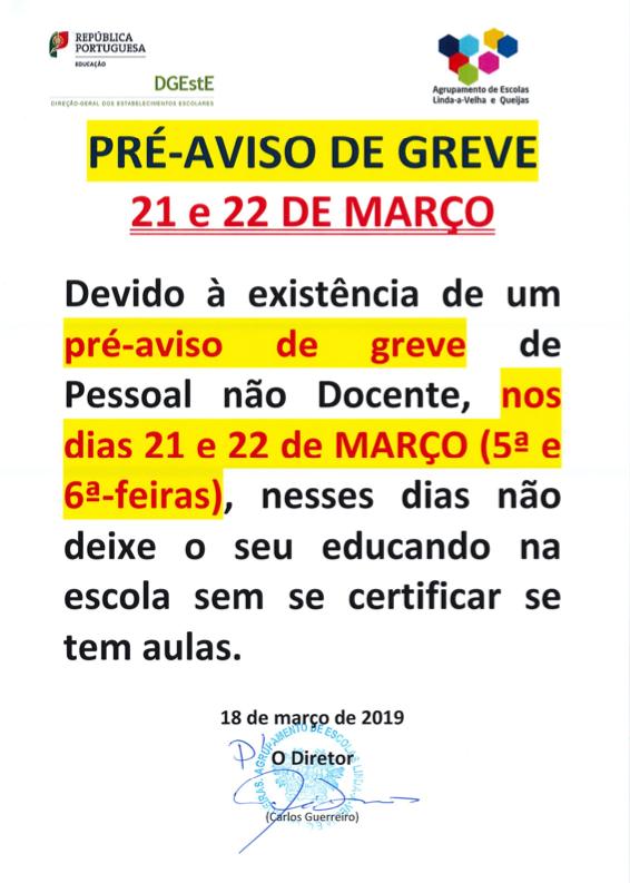 Pre_Aviso_Greve_2019MAR_21_22