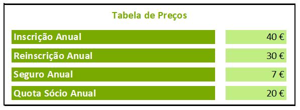 Tabela Preços 2020/2021